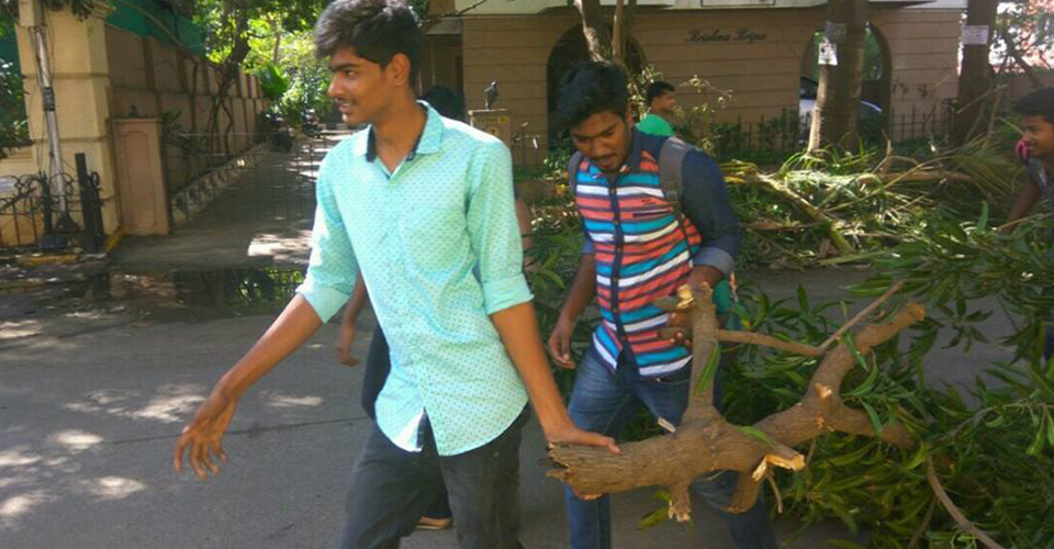 Cyclone Vardah 1
