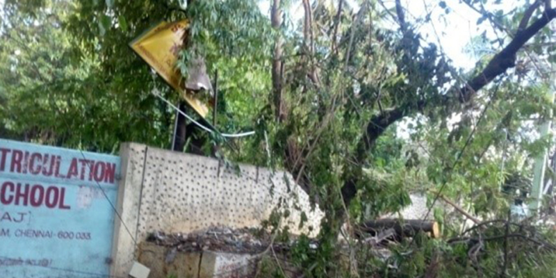 Cyclone Vardah 7