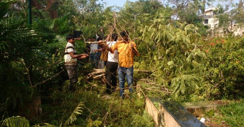 Cyclone Vardah 9