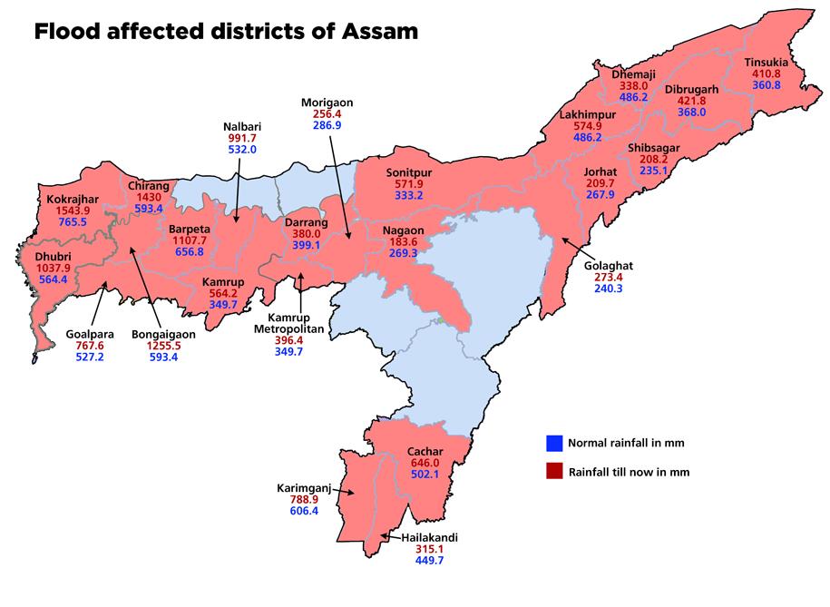 ASSAM 2016 MAP