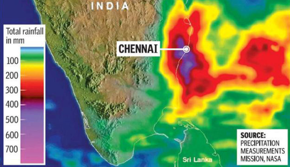 Chennai Floods Map