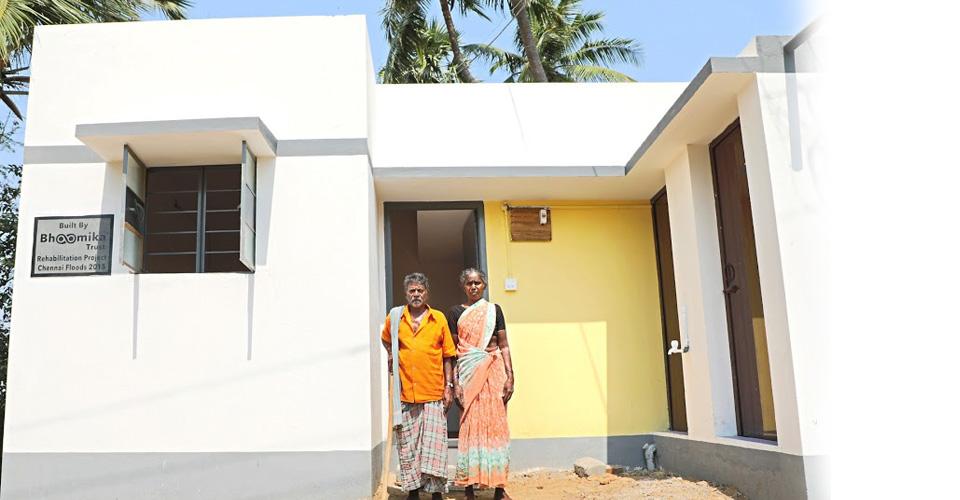 Habitat Restoration House After 4