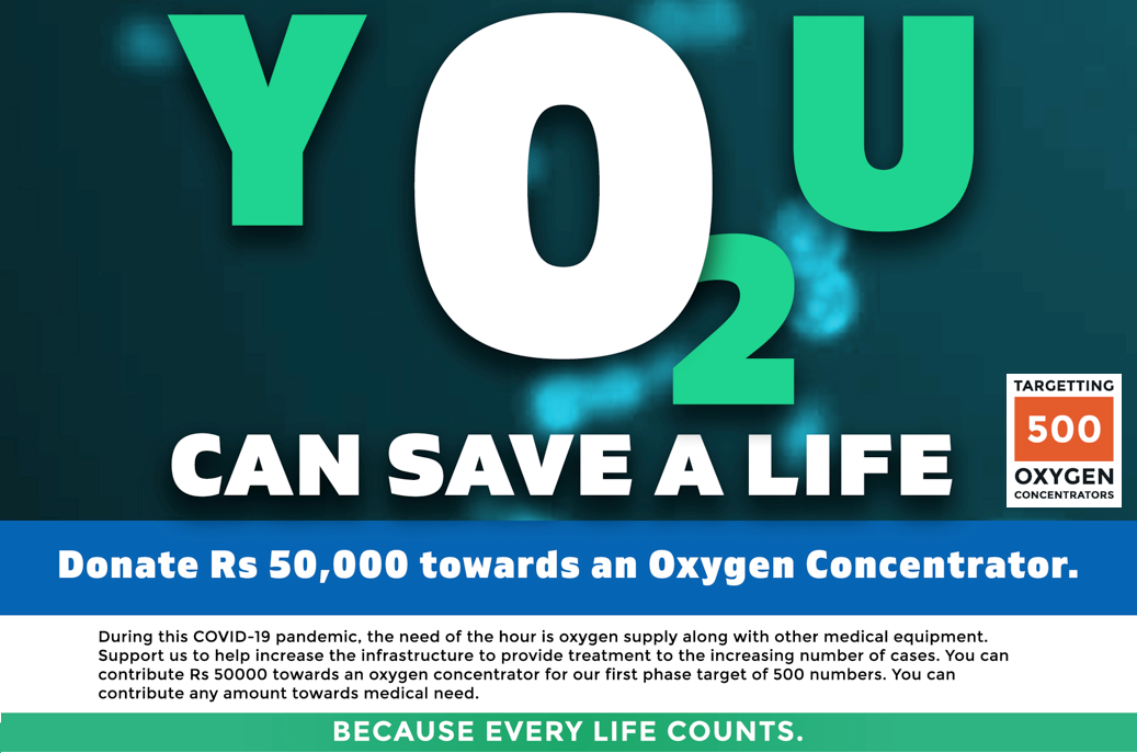 Bhoomika O2 Concentrators Donate